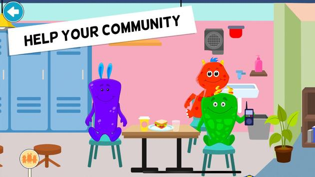 My Monster Town Police Station Games for Kids5