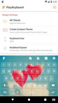 PlayKeyboard Create a Theme Emojis Shortcuts7