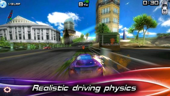 Street Racing Car Traffic Speed 3D2