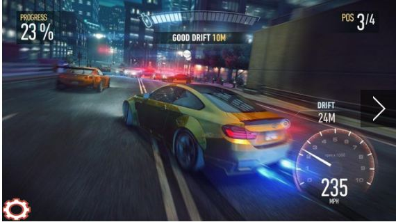 Street Racing Car Traffic Speed 3D3