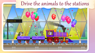 Train for Animals BabyMagica free