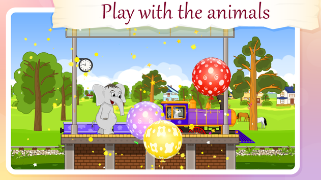 Train for Animals BabyMagica free3