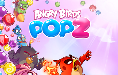 Angry Birds POP 2 Bubble Shooter