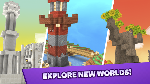Crafty Lands Craft Build and Explore Worlds4
