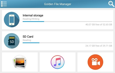 Golden File Manager Barcode Reader QR Generator