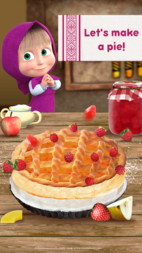 Masha and Bear Cooking Dash3