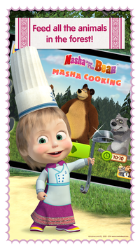 Masha and Bear Cooking Dash4