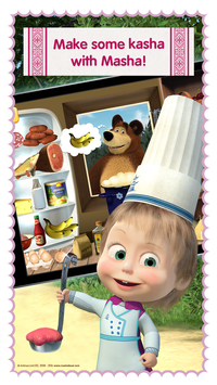 Masha and Bear Cooking Dash5