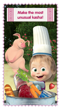 Masha and Bear Cooking Dash6