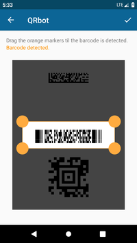 QRbot QR code reader and barcode reader5