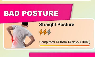Healthy Spine Straight Posture Back exercises