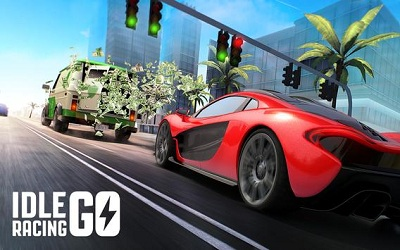 Idle Racing GO Clicker Tycoon Tap Race Manager