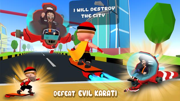 Mighty Raju 3D Hero Endless Running Chase3