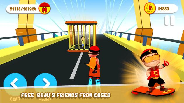 Mighty Raju 3D Hero Endless Running Chase4