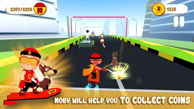 Mighty Raju 3D Hero Endless Running Chase5
