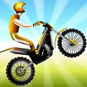 Moto Race physical dirt motorcycle racing game