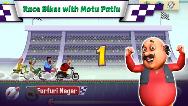 Motu Patlu Bike Race1