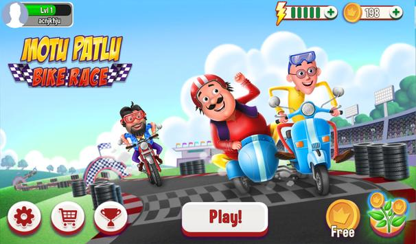Motu Patlu Bike Race2