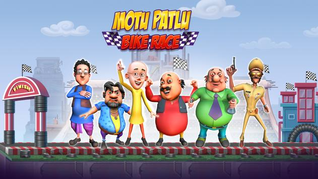 Motu Patlu Bike Race7