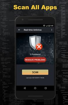 Real Antivirus Free Cache Clean Master2