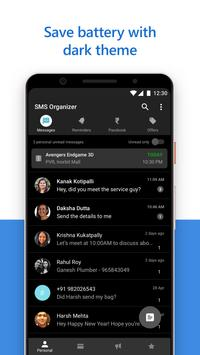 SMS Organizer Clean Reminders Offers Backup6