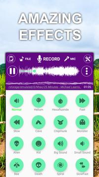 Voice changer sound effects Music player1