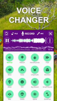 Voice changer sound effects Music player3