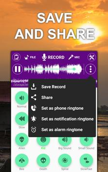 Voice changer sound effects Music player4