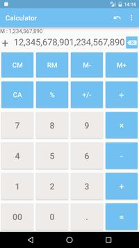 Calculator with many digit Long number3