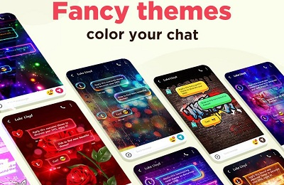 Color SMS Themes Customize chat Emoji