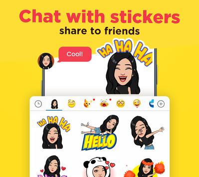 Color SMS Themes Customize chat Emoji2