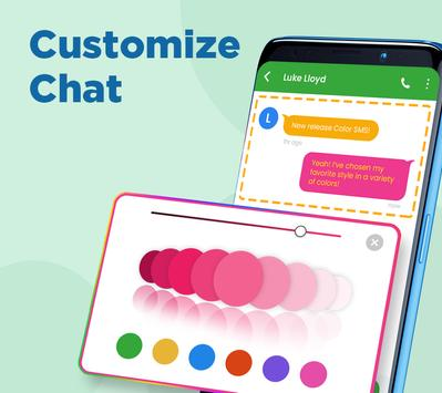 Color SMS Themes Customize chat Emoji4