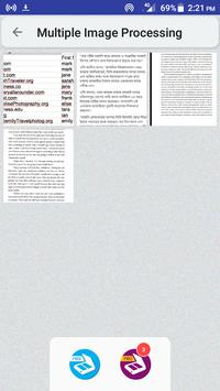 Image to text OCR image to PDF converter editor8