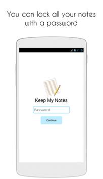 Keep My Notes Notepad Memo Checklist4