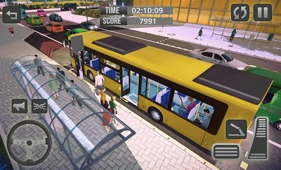 Modern Bus Driver Game New Bus Games 2019