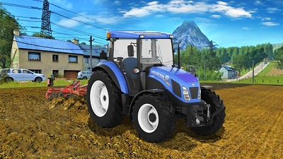 Real Farm Town Farming Simulator Tractor Game