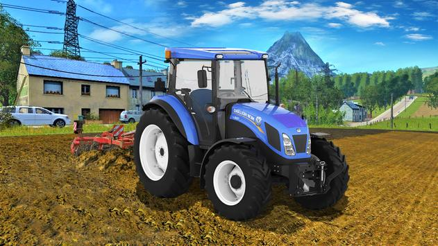 Real Farm Town Farming Simulator Tractor Game1