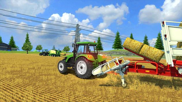 Real Farm Town Farming Simulator Tractor Game3