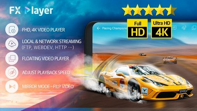 FX Player video player media network floating