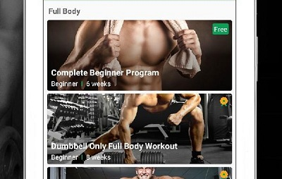 Fitvate Gym Workout Trainer Fitness Coach Plans