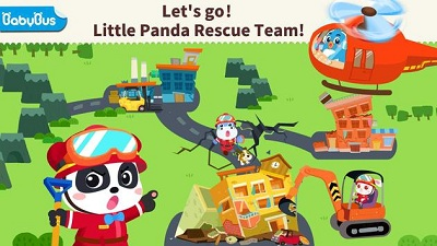 Little Panda s Earthquake Rescue
