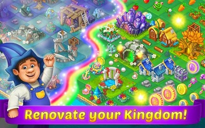 Mergewood Tales Merge Match Fairy Tale Puzzles