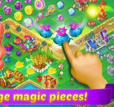 Mergewood Tales Merge Match Fairy Tale Puzzles2