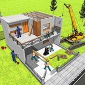 Modern Home Design House Construction Games 3D