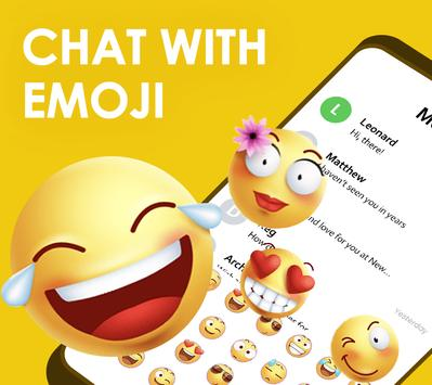 Quick SMS Launcher Emoji Customize Chat1