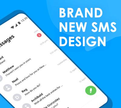 Quick SMS Launcher Emoji Customize Chat2