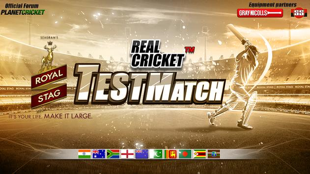 Real Cricket Test Match1