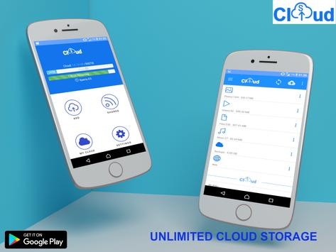 sCloud Unlimited FREE Cloud Storage Backup3