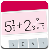 Fractions Calculator detailed solution available