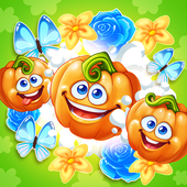 Funny Farm match 3 Puzzle game